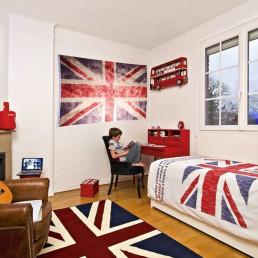 Maxi Drapeau Britannique Vintage