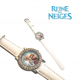 Montre Strass La Reine des Neiges