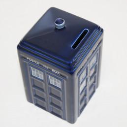Tirelire Tardis Céramique Dr Who
