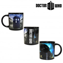 Mug Tardis Thermoréactif Dr Who