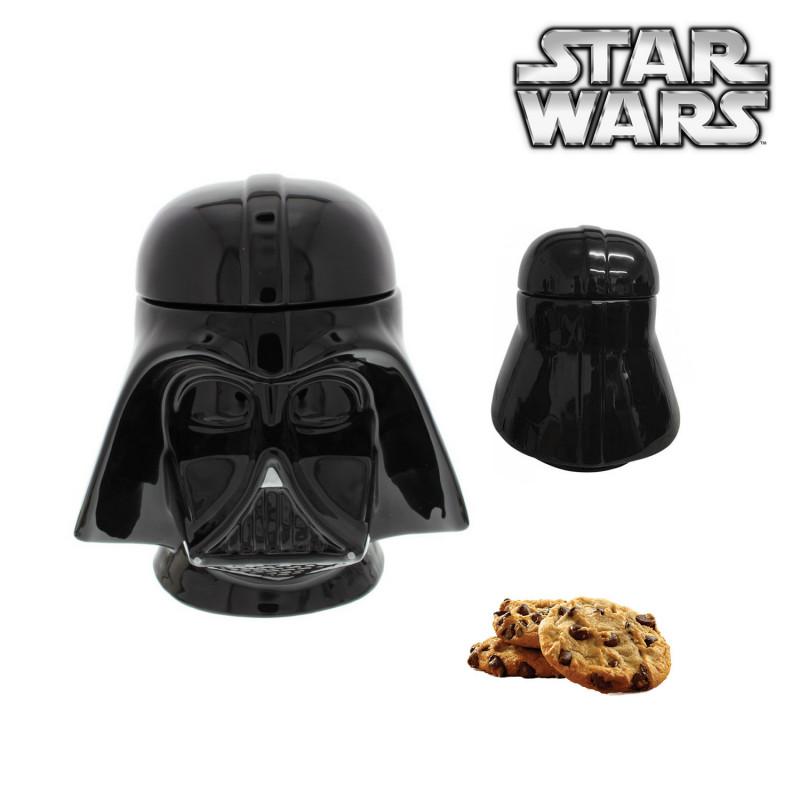 boîte à gâteaux céramique dark vador star wars : achat cadeau star