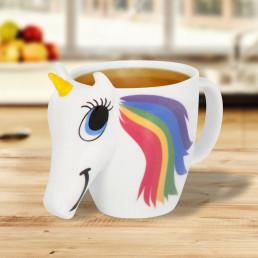 Mug Thermoréactif Licorne 3D