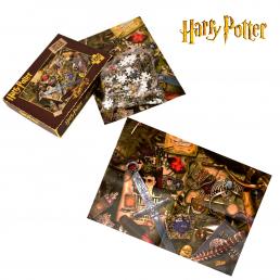 puzzle harry potter 500 pi ces l effigie des horcruxes sur rapid cadeau. Black Bedroom Furniture Sets. Home Design Ideas