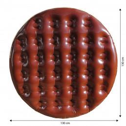 Maxi Matelas Gonflable Gâteau au Chocolat