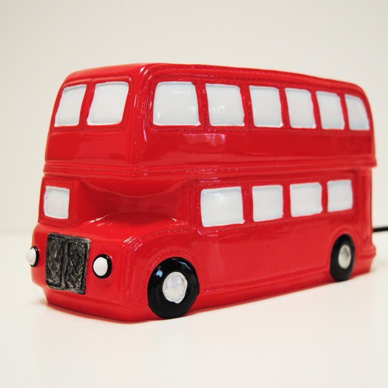 Lampe veilleuse en forme de bus pour d co anglaise sur rapid cadeau - Image de bus anglais ...