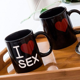 Mug Thermoréactif I Love Sex