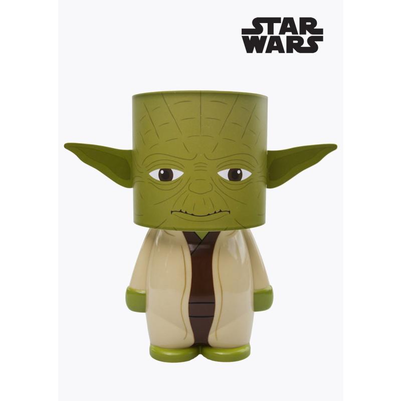 Lampe Geek Star Wars En Forme De Yoda Sur Rapid Cadeau