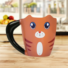 Mug Chat Roux Thermoréactif