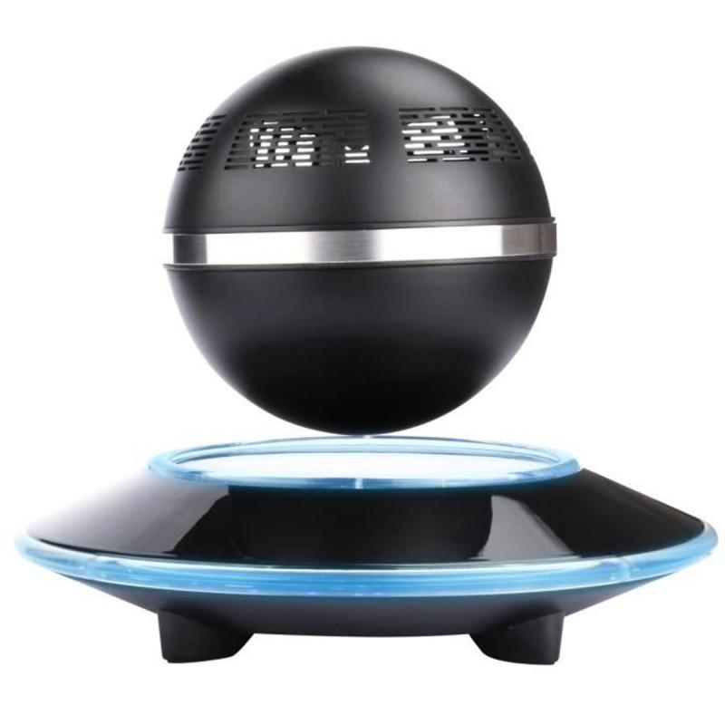 enceinte sph rique bluetooth en l vitation avec port e 10. Black Bedroom Furniture Sets. Home Design Ideas