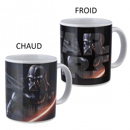 Mug Thermoréactif Combat Dark Vador Star Wars