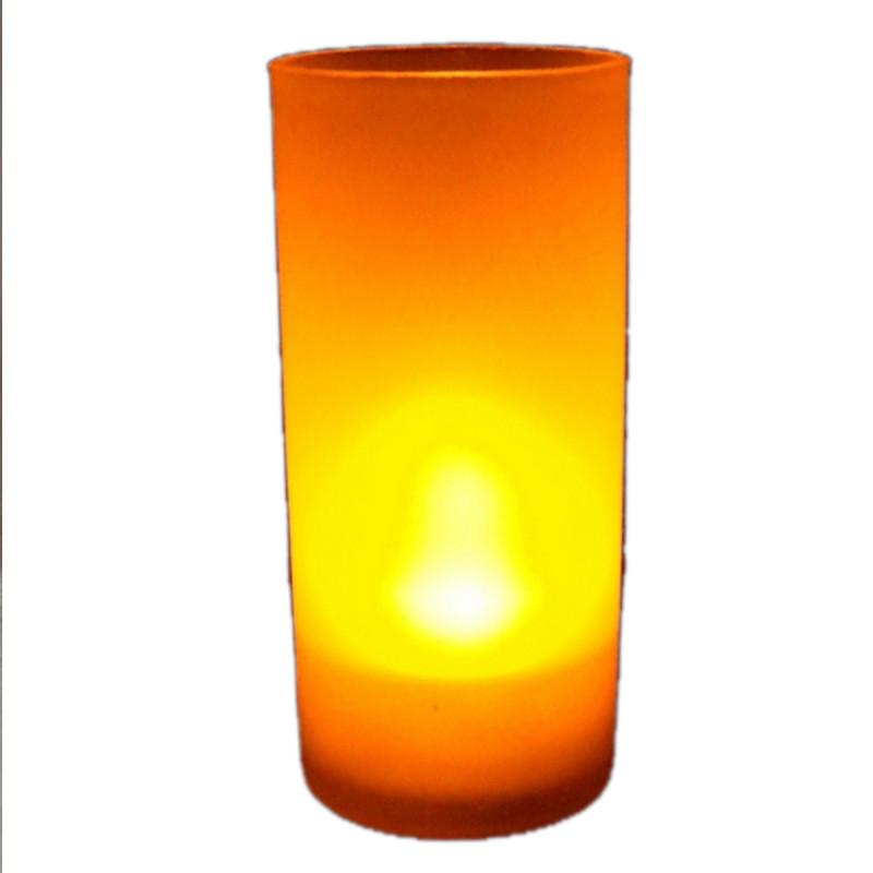 bougie photophore led couleur flamme cadeau d co. Black Bedroom Furniture Sets. Home Design Ideas