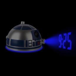 Réveil Projection Tête R2D2 Star Wars