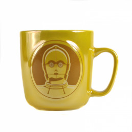 Mug C-3PO Star Wars Relief