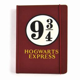 Carnet A5 Harry Potter Poudlard Voie Express 9 3/4