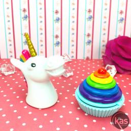 Duo de Baumes à Lèvres - Licorne et Cupcake
