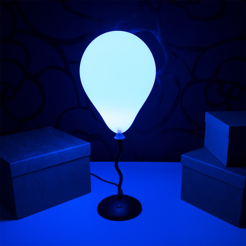 lampe ballon multicolore qui change de couleurs sur rapid. Black Bedroom Furniture Sets. Home Design Ideas