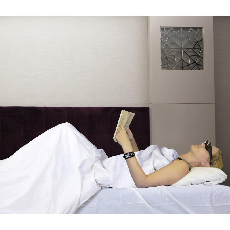 80cbdfd5b9 Lunettes de lecture allongée pour lire en position horizontale sur ...