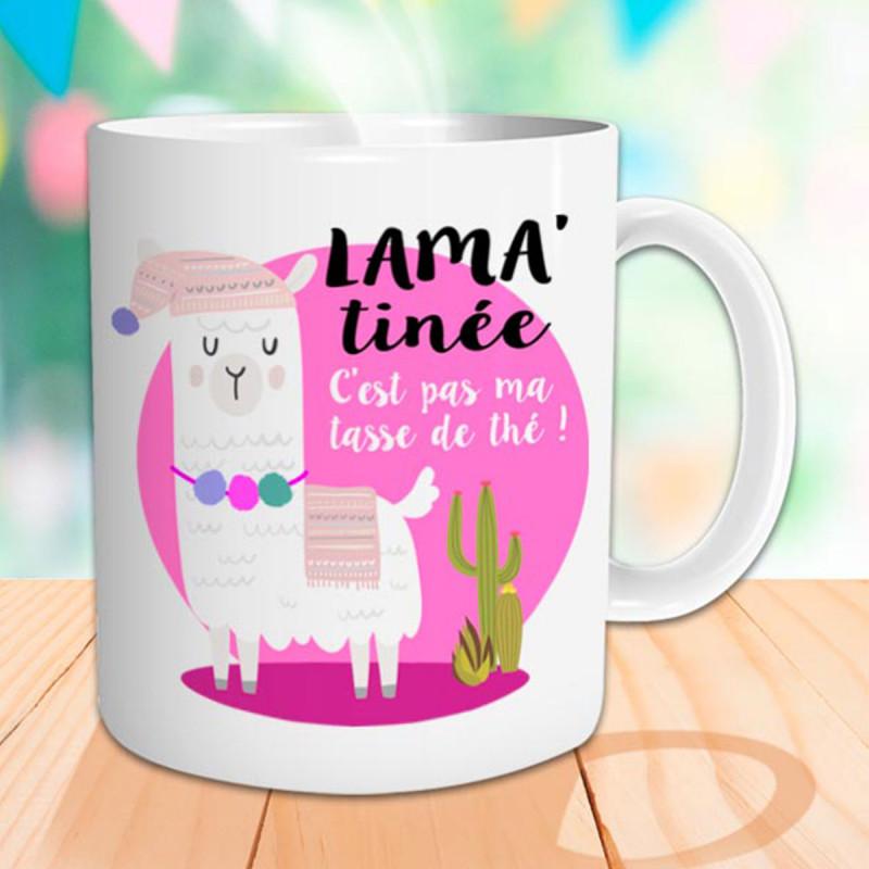 Thé – Pas De C'est « Ma Lama Tasse Humoristique Lama'tinée QxthdCsBr