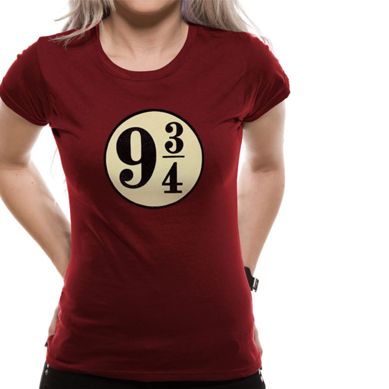 06d8b1959be56 T-Shirt Femme Harry Potter Voie Express 9 3 4. T-Shirt Femme Harry Potter  Voie Express 9 3 4