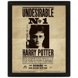 Cadre Harry Potter Effet Animé 3D