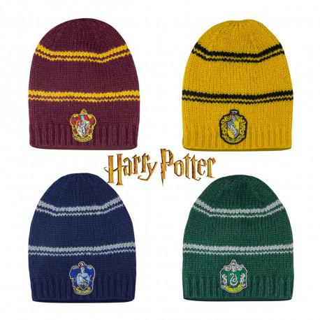 Vêtement Harry Potter  bonnet long à l\u0027effigie des maisons Poudlard sur  Rapid Cadeau
