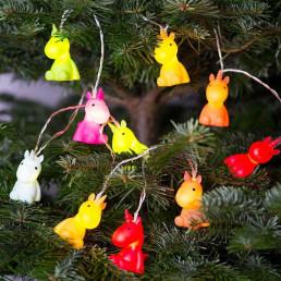 Guirlande Licornes Multicolores