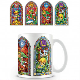 Mug The Legend of Zelda Vitraux