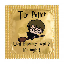 Préservatif Try Potter Wand to see my wand ?