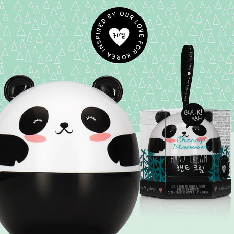 Crème pour les Mains Panda aux Fleurs de Cerisier
