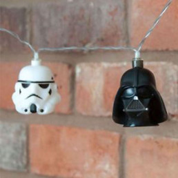 Guirlande Lumineuse Star Wars Dark Vador et Stormtrooper