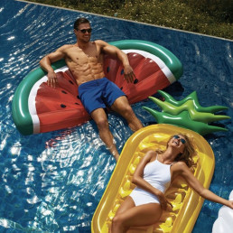 Maxi Matelas Gonflable Ananas