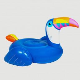 Maxi Bouée Gonflable Toucan Bleu