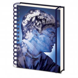 Carnet de Notes Harry Potter Portrait Couverture Animée