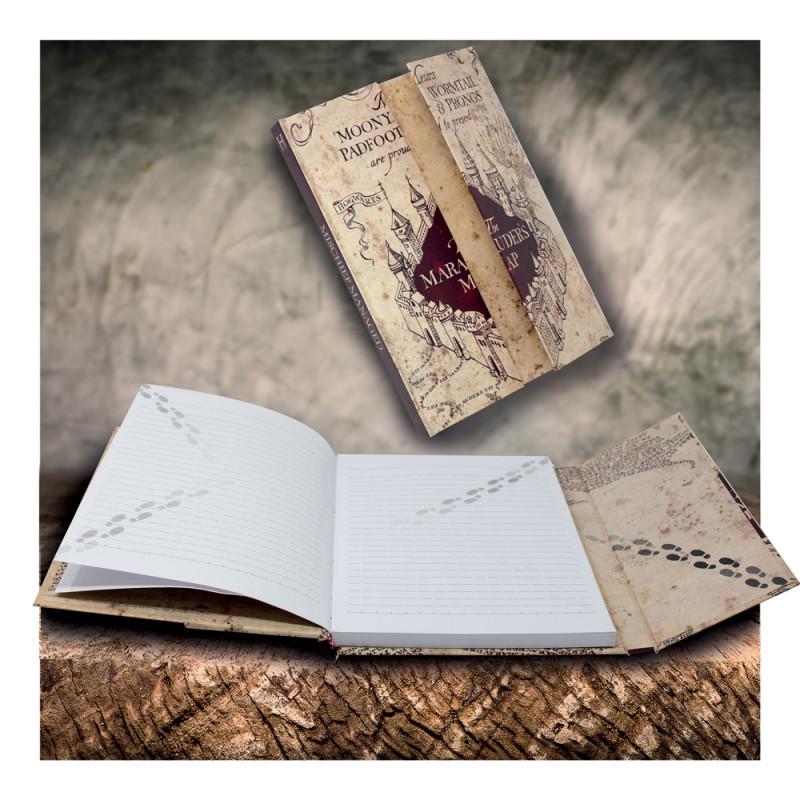 Potter La A5 Cahier De Du Harry À Maraudeur Sur L'effigie Carte Ybf7yv6g