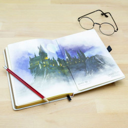 Carnet de Notes Harry Potter Ticket Londres Poudlard