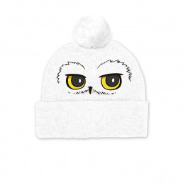 Bonnet Harry Potter Hedwige avec Pompon