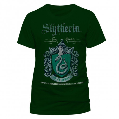 T-Shirt Harry Potter Serpentard Quidditch