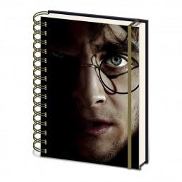 Carnet de Notes Harry Potter vs Voldemort Couverture Animée
