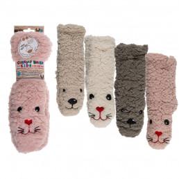 Chaussettes Moelleuses Animaux pour Enfants