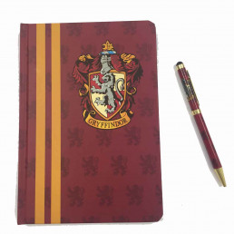 Set Harry Potter Gryffondor - Carnet de Notes et Stylo