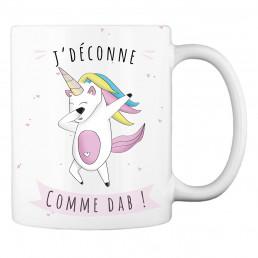 Mug Licorne Dab à Personnaliser