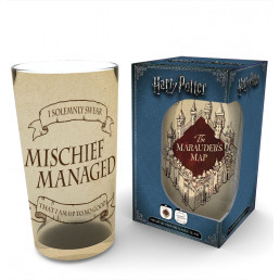Maxi Verre Harry Potter Carte du Maraudeur