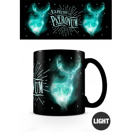 Mug Phosphorescent Harry Potter Expecto Patronum