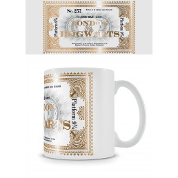 Mug Harry Potter Ticket Londres Poudlard
