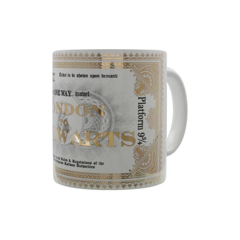 Mug Potter De Poudlard Ticket Sur Harry Céramique Londres Métro En 80wNmn