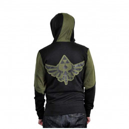 Veste Bicolore The Legend of Zelda avec Capuche