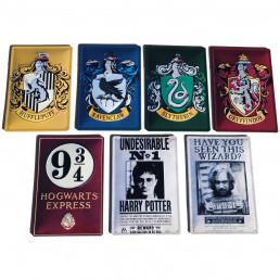 Plaque Métallique 3D Harry Potter - Gryffondor
