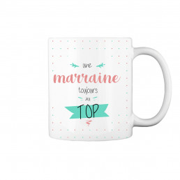 Mug Marraine Au Top à Personnaliser