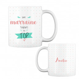 Mug Marraine Au Top à Personnaliser