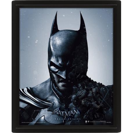 Cadre Batman Joker Effet Animé 3D